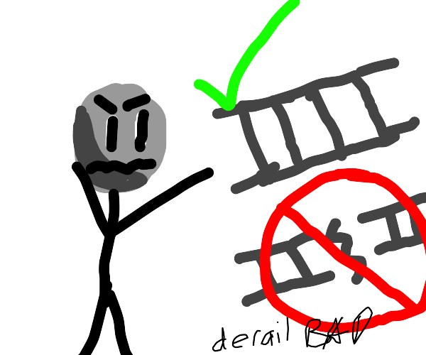 Crowd out to get Drawception derailers