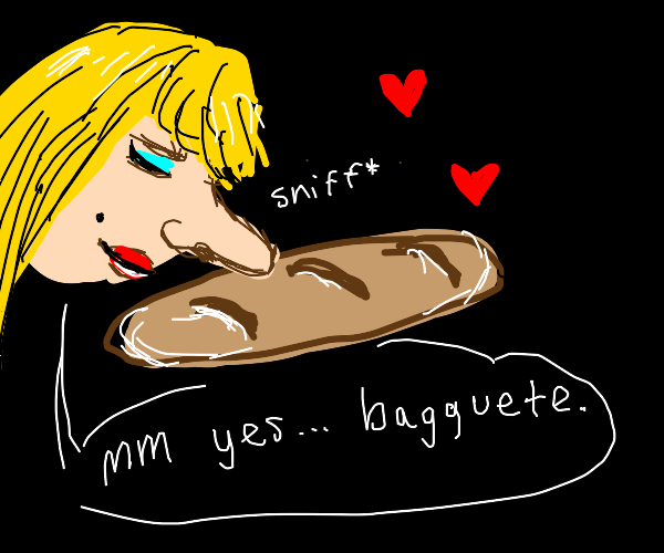 sniff bagguete