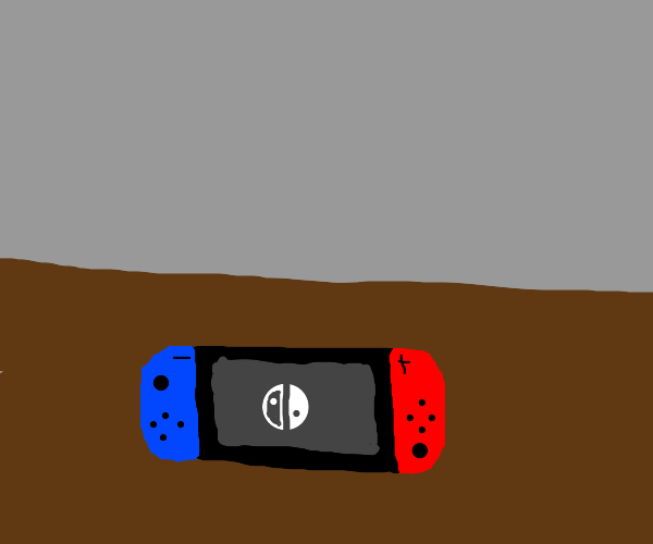 a nintendo switch sitting on a table