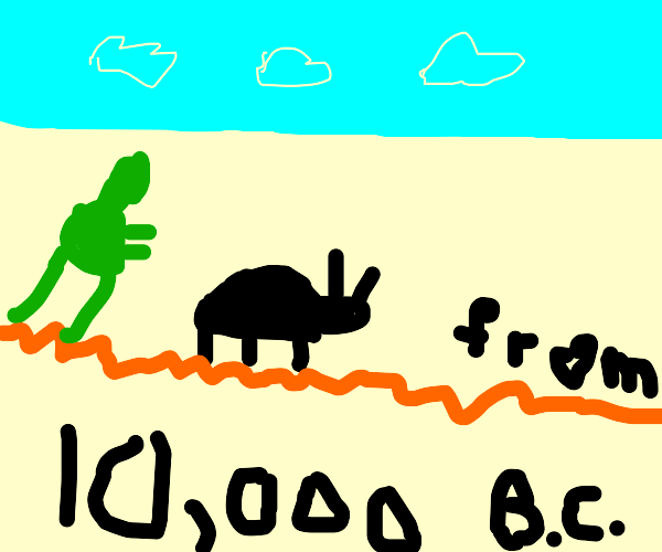 Beetle from 10,000 B.C.