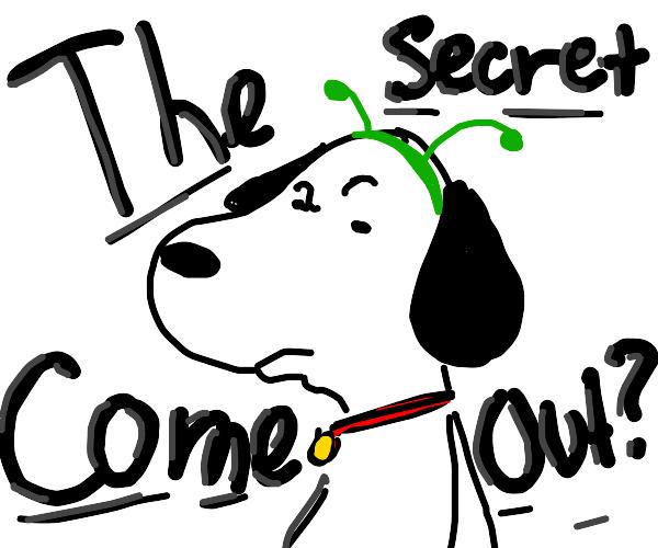 Snoopy Is An Alien