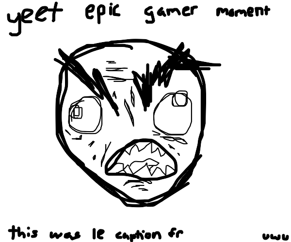 rage face comic