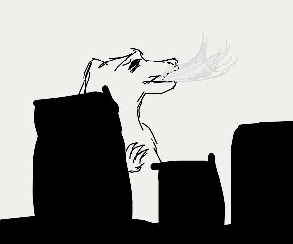 Godzilla Destroys a City