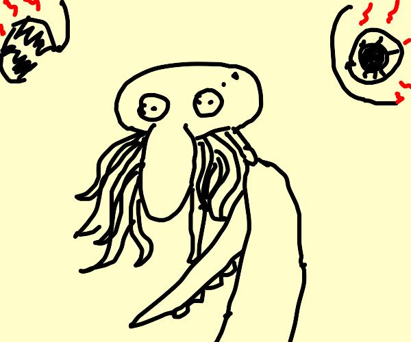 Squidward cthulu