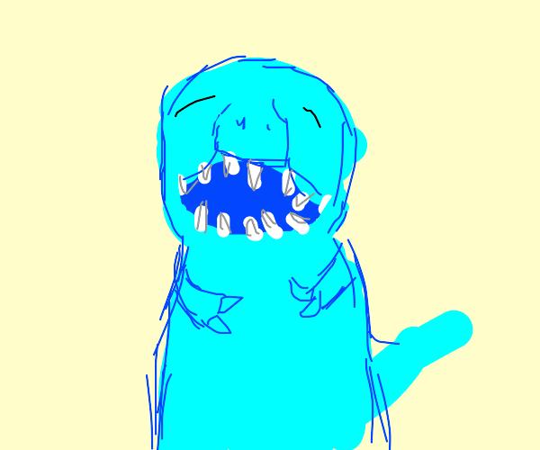 dinosaur laughing