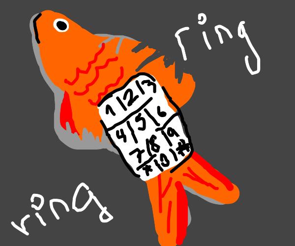 Goldfish cell phone