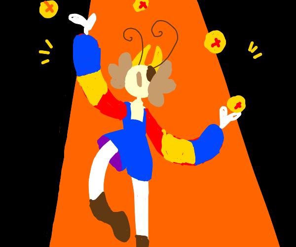 demon juggling