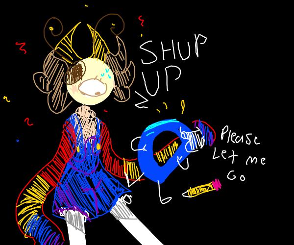Demon kidnap Dception (ft.shrek laughing)