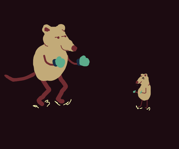 Mouse fighter
