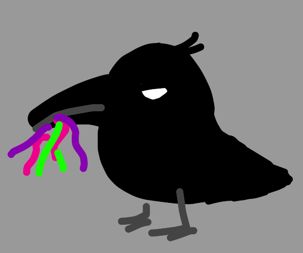 raven from teen titans holding gummies