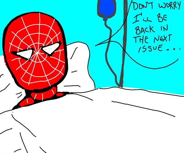 Terminally ill Spider Man
