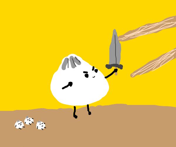 Dumpling in a Battle