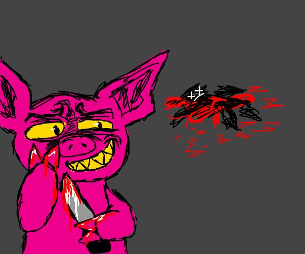 Pig killed someone