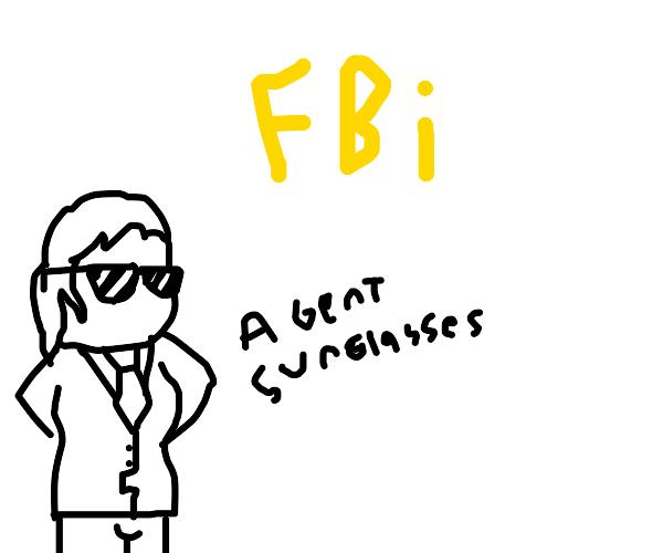 FBI: agent sunglasses