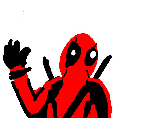 deadpool says hi