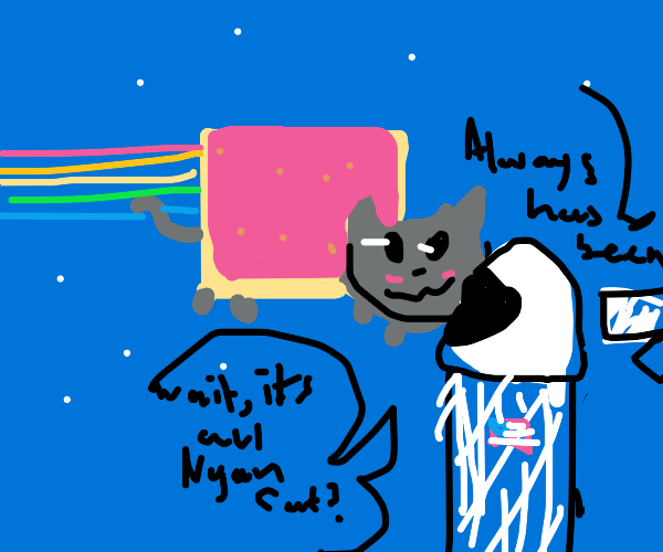The Earth is Nyan Cat!