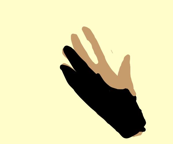 Artist's gloves