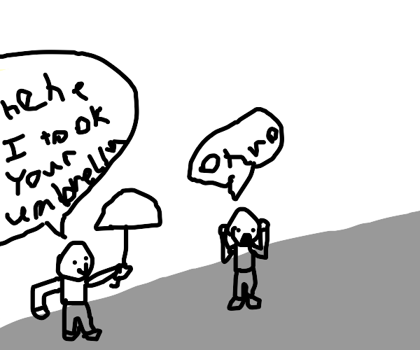 Umbrella Robber