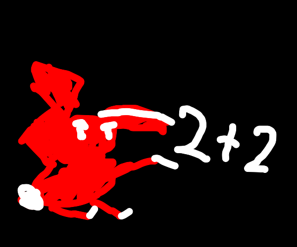 Abstract rabbit does maths