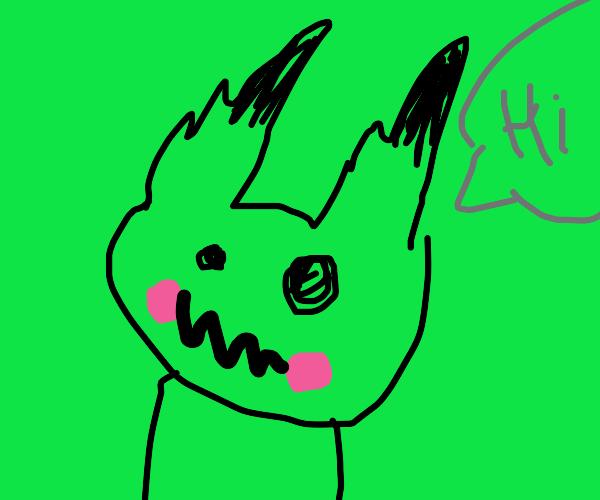 Mimikyu says hi