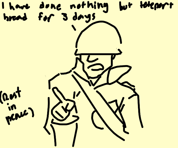 the TF2 Soldier