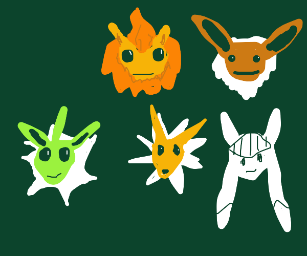 I have a lot of Eeveelutions