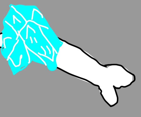frozen bone