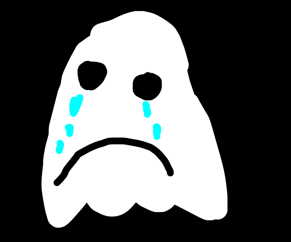 ghost crying