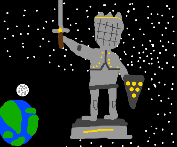 Space Statue
