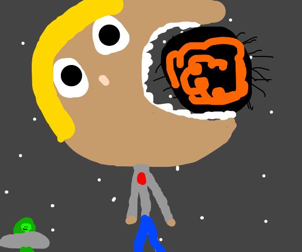 Step 3: Eat the black hole