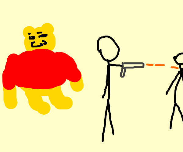 Pooh appreciates excessive violence