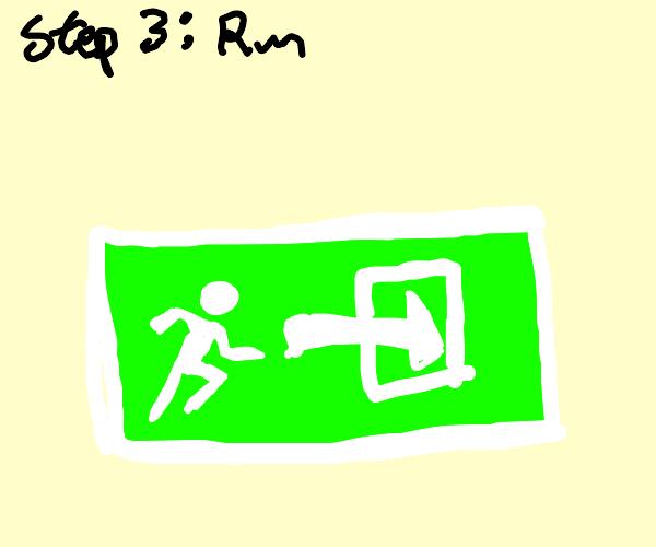 step 1: aaa, Step 2: killed a man, step 3: