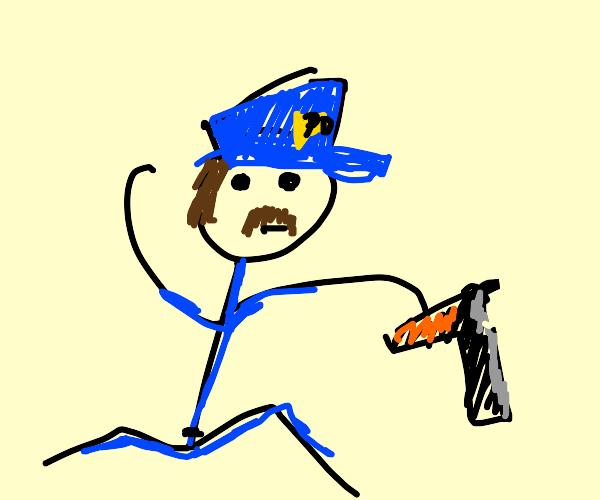 Doodle Police Officer