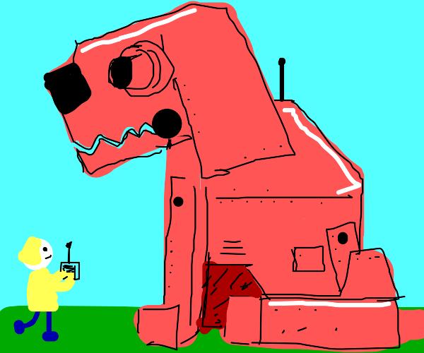 Clifford the big red cyborg