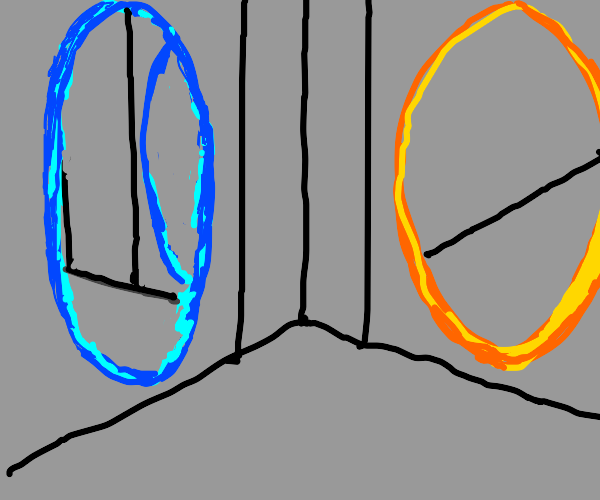 portals from Portal (valve game)