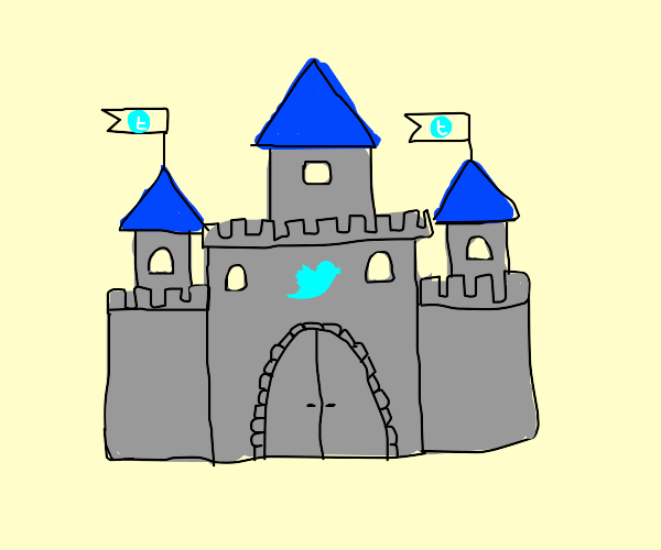 Twitter castle
