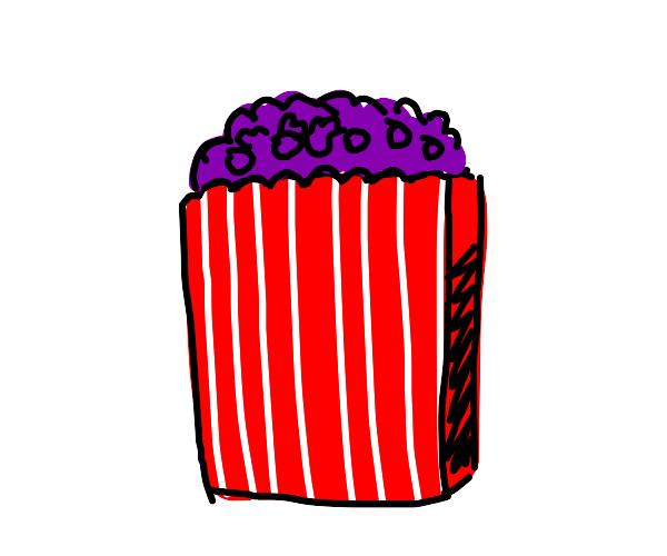 Purple Popcorn