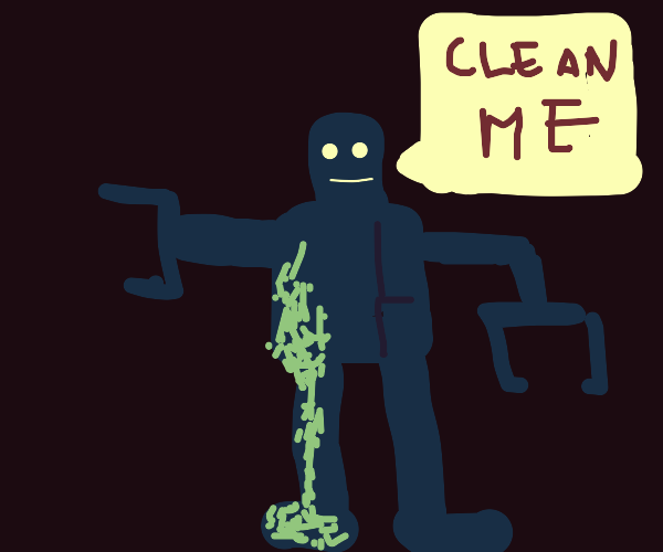 Robot Needs to Be Cleaned