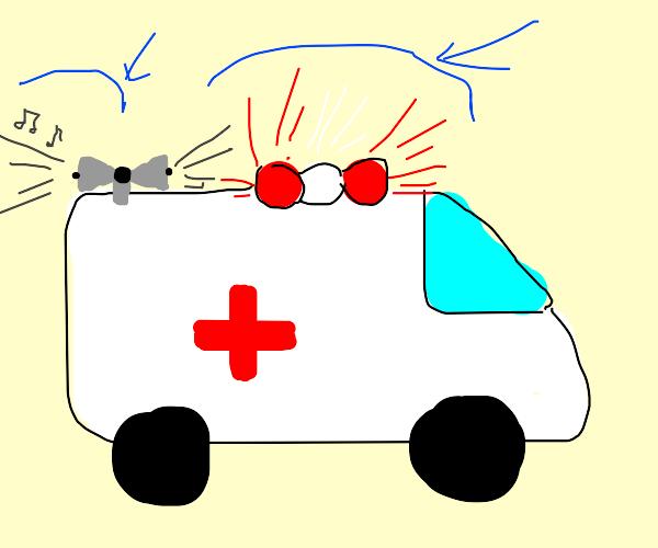 ambulance light weeeeeewooooooo