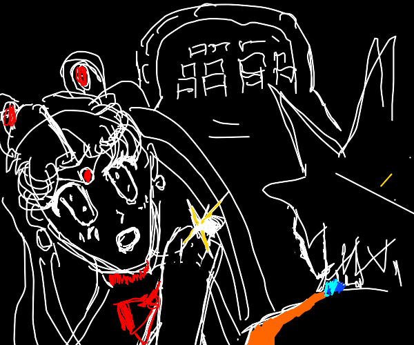 sailor moon marries goku