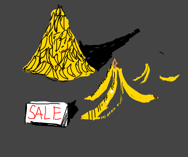 lots of bananas! they're on sale!