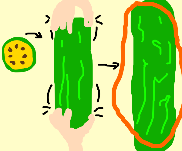 Stretched Cucumber