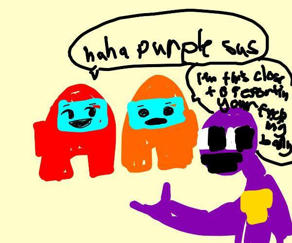 purple sus