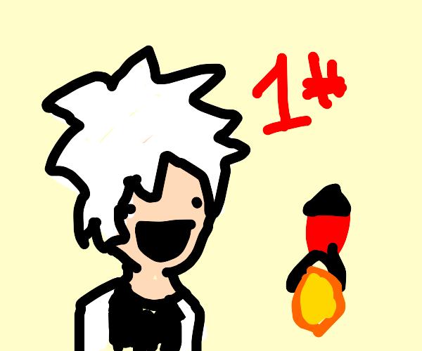 #1 rocket scientist