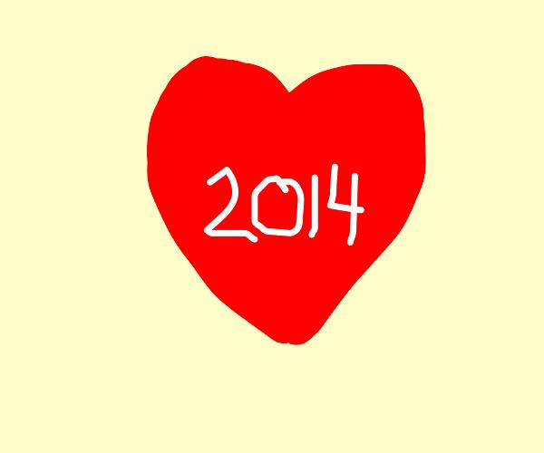 I heart 2014