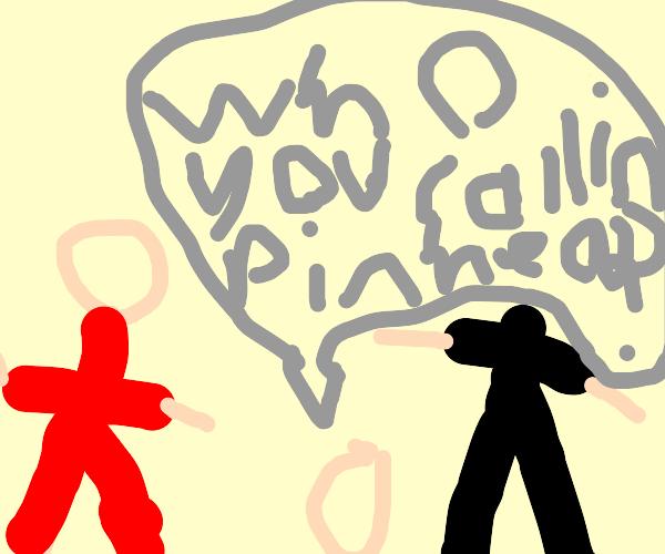 Who you callin pinhead?But decapitated