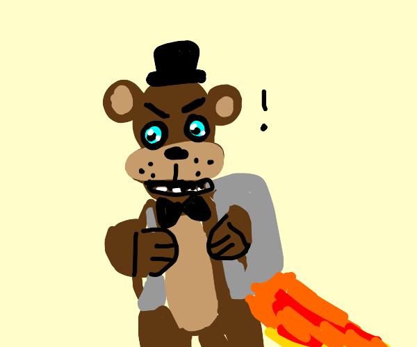 fnaf bear hass JETPACK