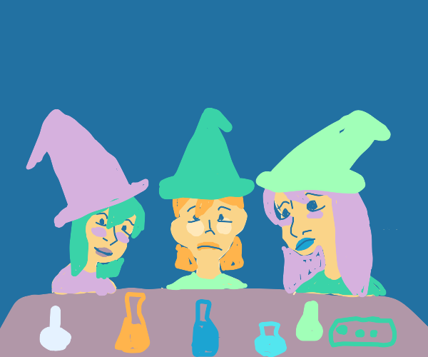 witches are the real scientists