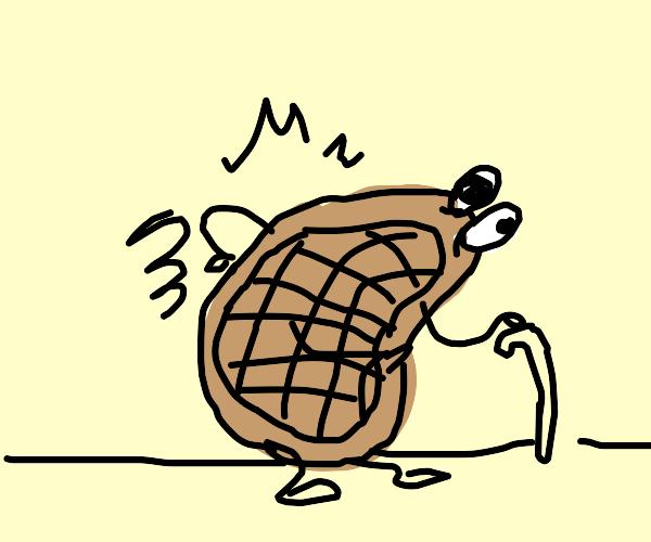 Crippled Waffle Man
