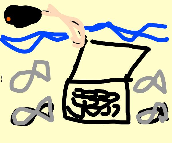 Reeling in a Laptop